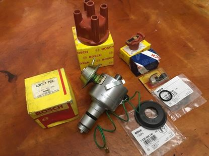 Picture of Restored Distributor with NOS Vac (034)