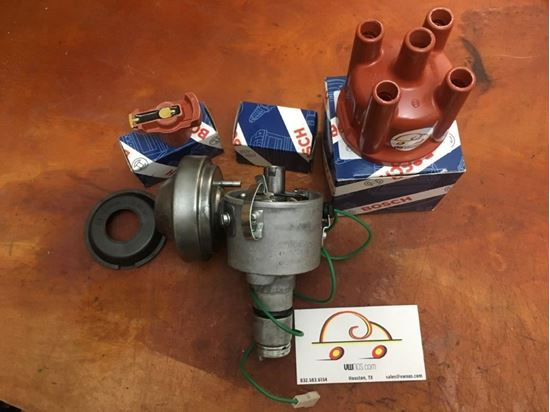 Picture of Restored Distributor w/NOS Vacuum Canister