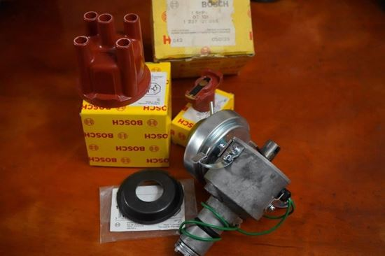 Picture of Restored Distributor with NOS Vac